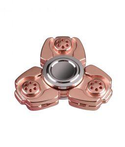i-mee CKF CNC Metal Alloy Tri-Bar Fidget Spinner - (Rose Gold)
