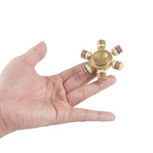i-mee DIY Six-Bar Metal Fidget Spinner – (Gold)