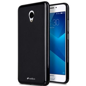 Poly Jacket TPU Case for Meizu M5 Note -(Black Mat)
