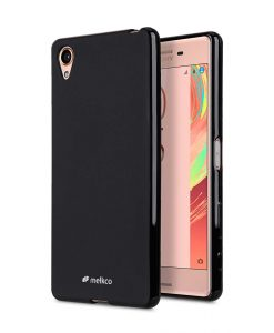 Poly Jacket TPU Case for Sony Xperia X - (Black Mat)