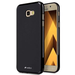 Poly Jacket TPU Case for Samsung Galaxy A7 (2017) - (Black Mat)