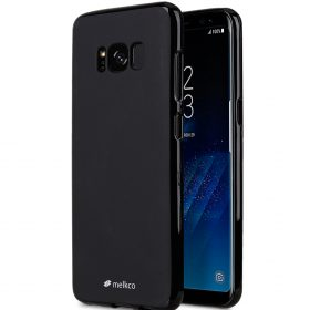 Poly Jacket TPU Case for Samsung Galaxy S8 Plus – (Black Mat)