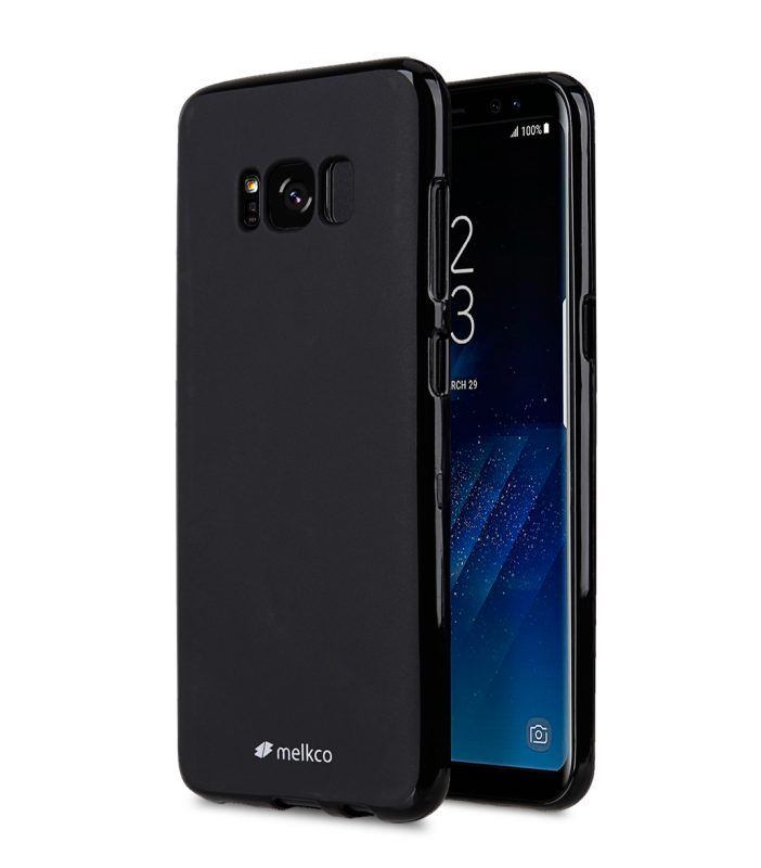 Poly Jacket TPU Case for Samsung Galaxy S8 Plus - (Black Mat)