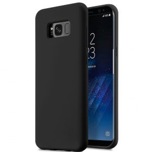 Melkco Aqua Silicone Case for Samsung Galaxy S8 – ( Black )