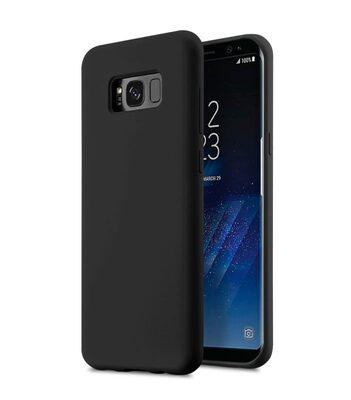 Melkco Aqua Silicone Case for Samsung Galaxy S8 - ( Black )