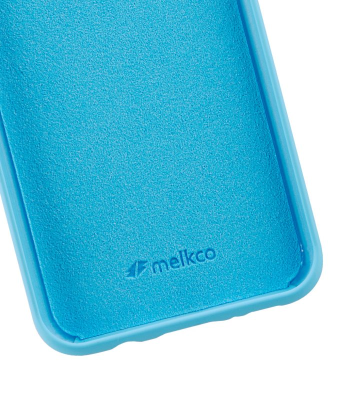 Melkco Aqua Silicone Case for Samsung Galaxy S8 - ( Blue )