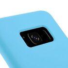 Melkco Aqua Silicone Case for Samsung Galaxy S8 – ( Blue )