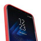 Melkco Aqua Silicone Case for Samsung Galaxy S8 – ( Red )