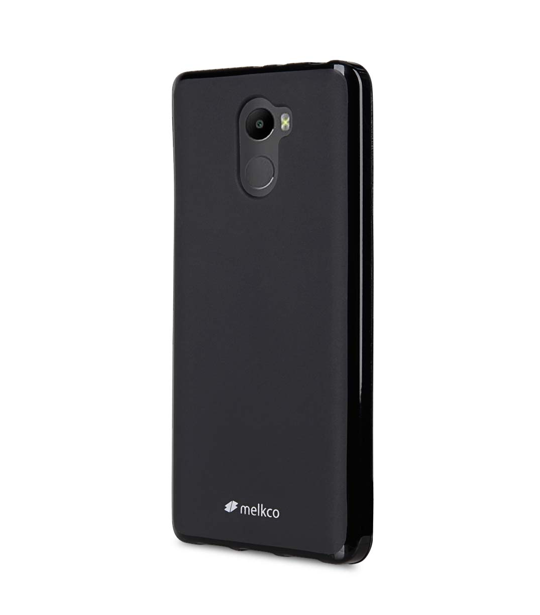 Poly Jacket TPU Case for Xiaomi Redmi 4 - (Black Mat)