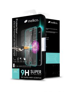 Melkco 9H Tempered Glass Screen Protector for Samsung Galaxy S8 - ( Transparent )