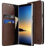 Fashion Cocktail Series Slim Flip Premium Leather Case for Samsung Galaxy Note 8