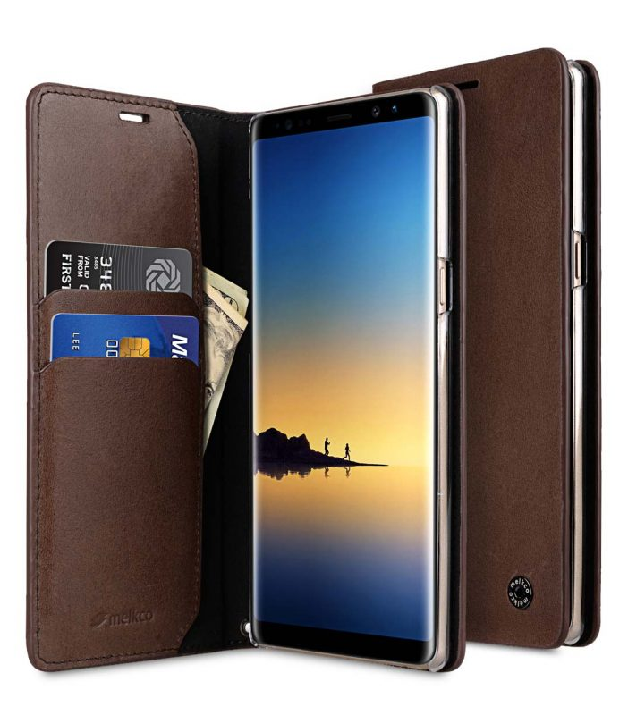 Fashion Cocktail Series Slim Flip Premium Leather Case for Samsung Galaxy Note 8