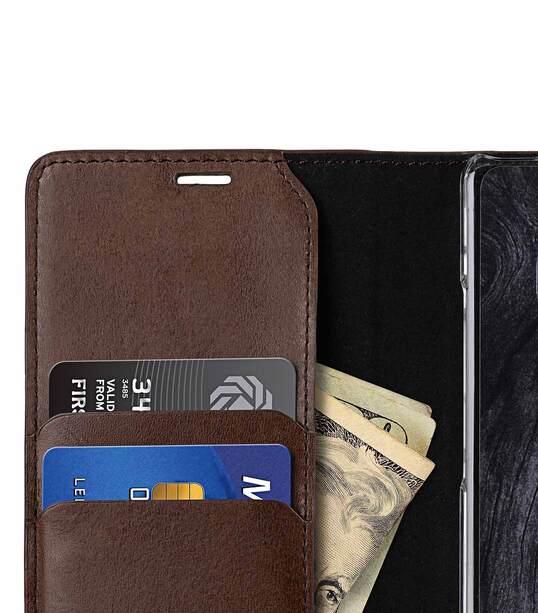 Melkco Fashion Cocktail Series Slim Flip Premium Leather Case for Samsung Galaxy Note 8 - (Italian Brown)