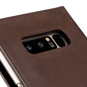 Melkco Fashion Cocktail Series Slim Flip Premium Leather Case for Samsung Galaxy Note 8 – (Italian Brown)