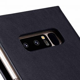 Melkco Fashion Cocktail Series Slim Flip Premium Leather Case for Samsung Galaxy Note 8 – (Italian Navy)