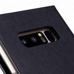 Melkco Fashion Cocktail Series Slim Flip Premium Leather Case for Samsung Galaxy Note 8 - (Italian Navy)