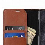 Melkco Fashion Cocktail Series Slim Flip Premium Leather Case for Samsung Galaxy Note 8 - (Italian Orange Brown)