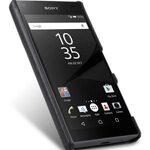 Melkco Mini PU card slot back cover for Sony Xperia Z5 Mini – (Dual card slots) – Black PU