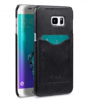PU Card Slot Snap Cover (Ver.2) for Samsung Galaxy S6 Edge Plus