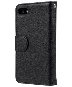 Melkco Mini PU Case for Blackberry Z10 - Wallet Book Type (Black PU LC)