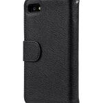 Melkco Mini PU Case for Blackberry Z10 - Wallet Book Type (Black PU LC)