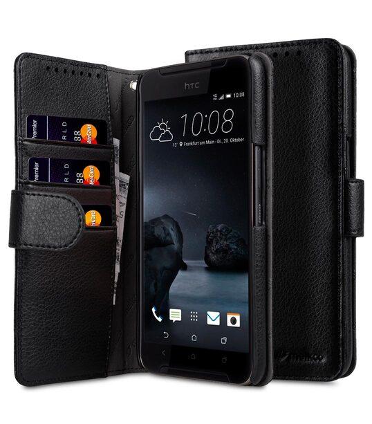 brand new e0d83 2e4f8 PU Cases for HTC One X9 Dual Sim - Wallet Book Type (Black PU)