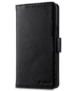 Melkco Mini PU Cases for HTC One X9 Dual Sim - Wallet Book Type (Black PU)