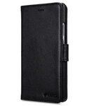 Melkco Mini PU Cases for Huawei P9 Plus - Wallet Book Type (Black PU)