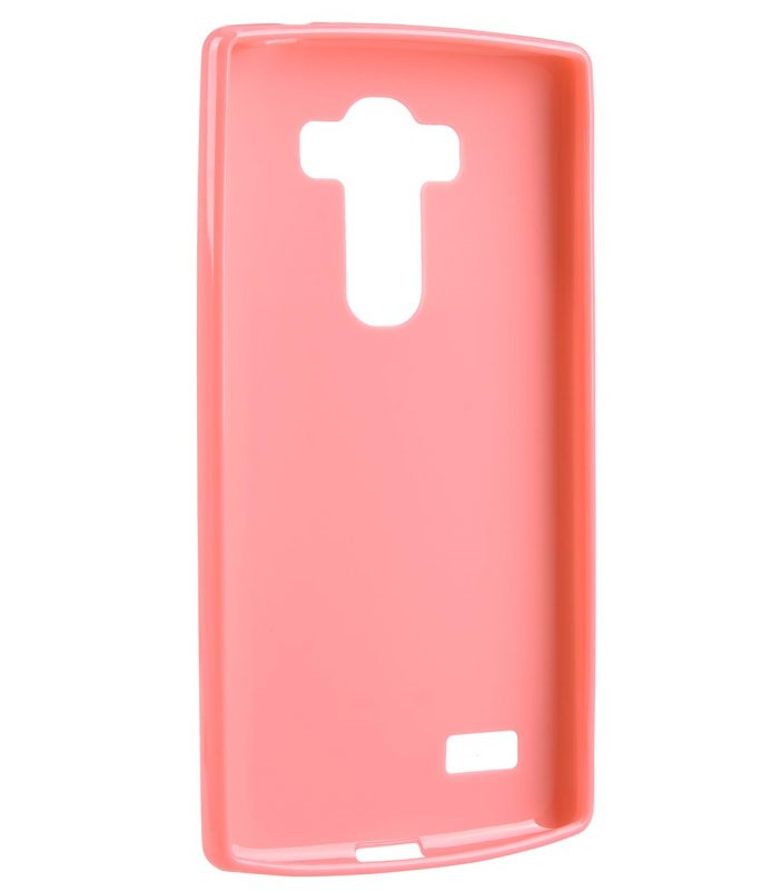 Melkco Poly Jacket TPU case for LG G4 S - Pearl Pink