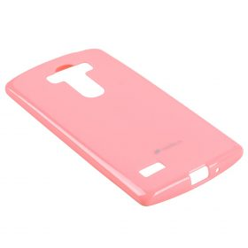 Melkco Poly Jacket TPU case for LG G4 S – Pearl Pink