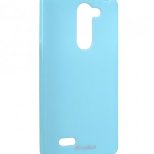 Melkco Poly Jacket TPU Case for LG L80+ / Bello / D335 - Pearl Blue