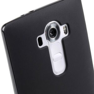 Melkco Poly Jacket TPU case for LG Optimus G4 - Black Mat