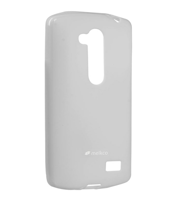 Melkco Poly Jacket TPU Cases for LG L70+ Fino / D295 (Pearl Grey)