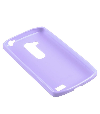 Melkco Poly Jacket TPU Cases for LG L70+ Fino / D295 (Pearl Purple)