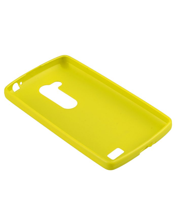 Melkco Poly Jacket TPU Cases for LG L70+ Fino / D295 (Pearl Yellow)