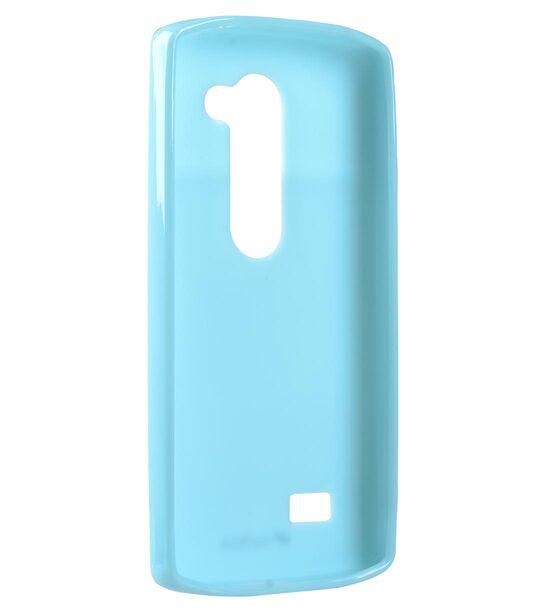 Melkco Poly Jacket TPU Cases for LG Leon - Blue