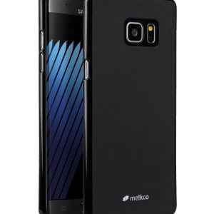 Melkco Poly Jacket TPU cases for Samsung Galaxy Note 7(Curvy Screen Protector) - (Black Mat)