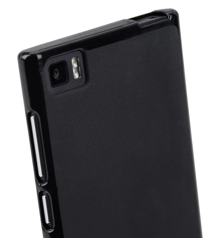 Melkco Poly Jacket TPU Cases for Xiao Mi M3 (Ver.2) - Black Mat