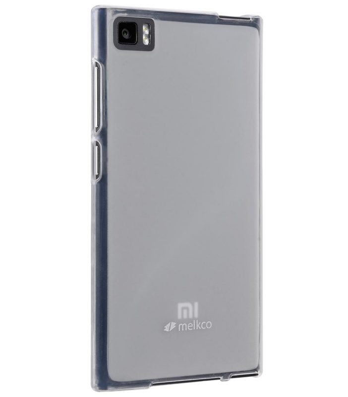 Melkco Poly Jacket TPU Cases for Xiao Mi M3 (Ver.2) - Transparent Mat