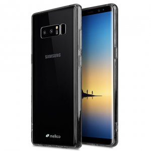 Melkco PolyUltima Case for Samsung Galaxy Note 8 - (Transparent Black)