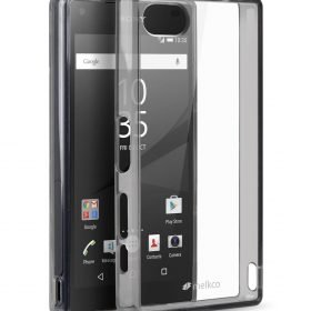 Melkco PolyUltima Cases for Sony Xperia Z5 Mini – Transparent Black (Without Screen Protector)