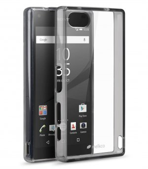PolyUltima Cases for Sony Xperia Z5 Mini - Transparent Black
