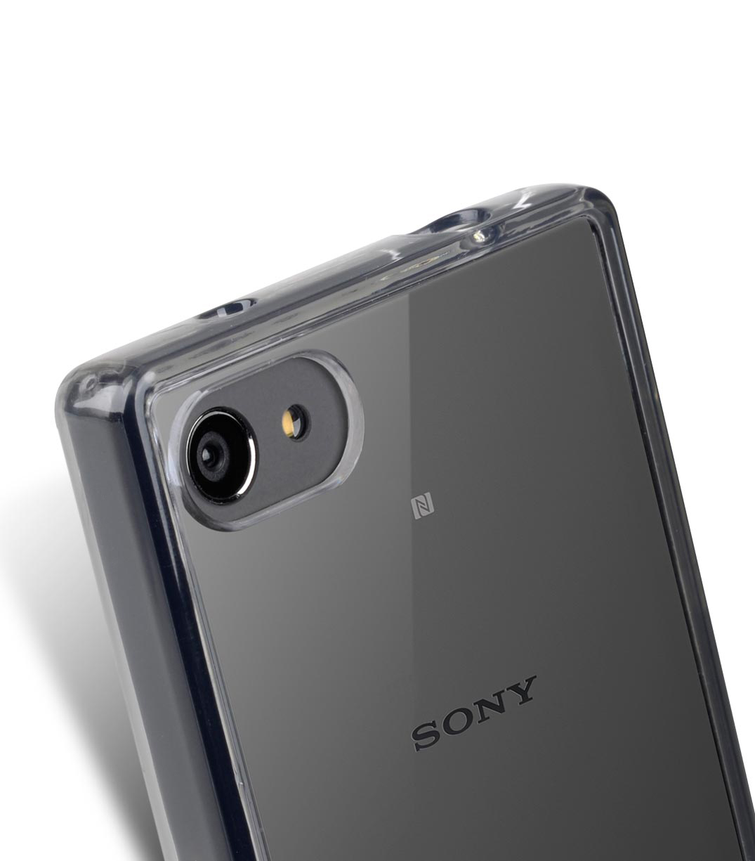 Melkco PolyUltima Cases for Sony Xperia Z5 Mini - Transparent Black (Without Screen Protector)