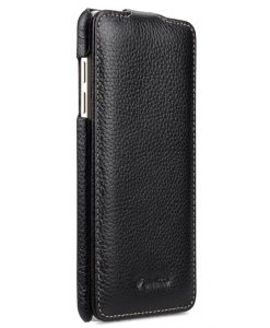 Melkco Premium Genuine Leather Case for Samsung Galaxy A5 (2016) - Jacka Type (Black LC)