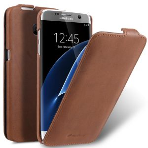 Melkco Premium Leather Cases for Samsung Galaxy S7 Edge - Jacka Type