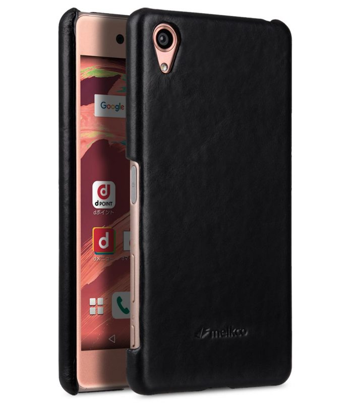 Melkco Premium Genuine Leather Snap Cover For Sony Xperia X Performance (Traditional Vintage Black)