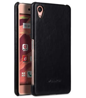 Melkco Premium Genuine Leather Snap Cover For Sony Xperia X (Traditional Vintage Black)