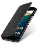 Melkco Premium Leather Case for LG Nexus 5x - Face Cover Book Type (Black LC) Ver.3