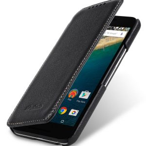 Melkco Premium Leather Case for LG Nexus 5x - Face Cover Book Type (Black LC) Ver.3
