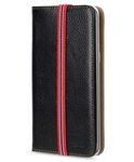 Melkco Premium Leather Case for Samsung Galaxy S6 Edge Plus - Slim Tick Type (Black LC)